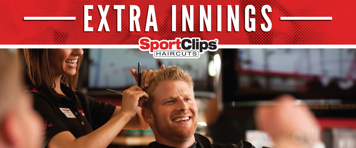 The Sport Clips Haircuts of Hot Springs  Extra Innings Offerings