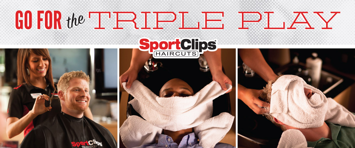 The Sport Clips Haircuts of Hot Springs  Triple Play
