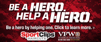 Sport Clips Hot Springs ​ Help a Hero Campaign